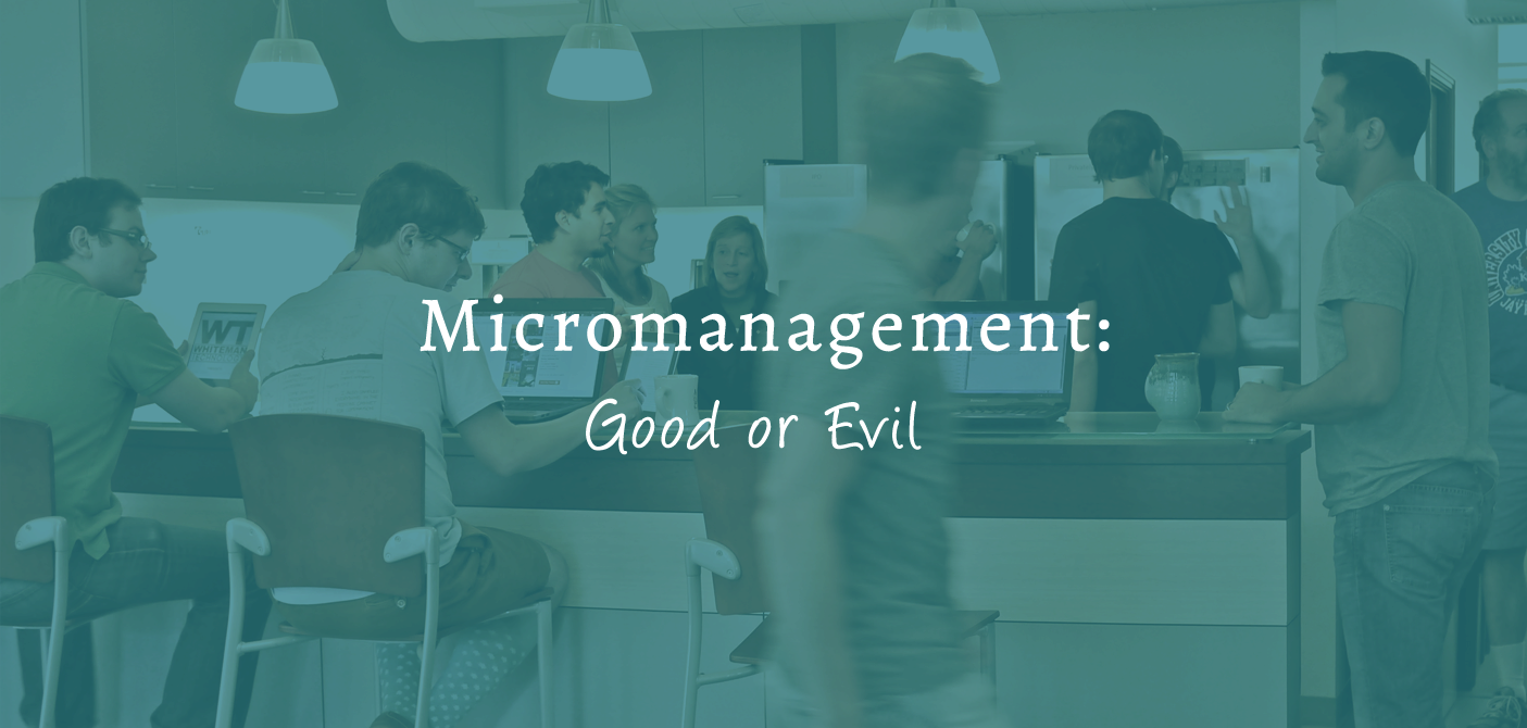 Micromanagement: Good or Evil?